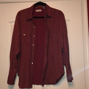 Banana republic size medium snap blouse
